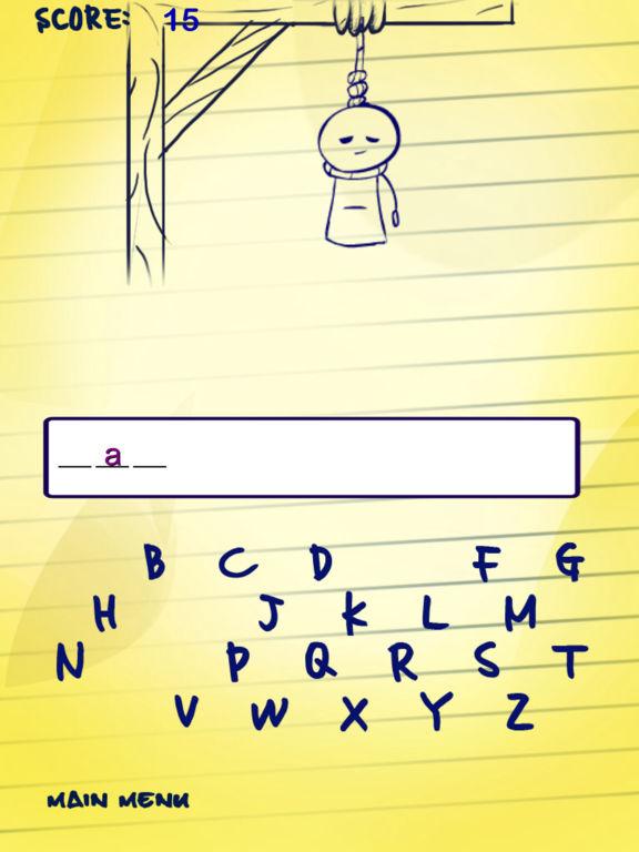 Doodle Hangman Free для iPad