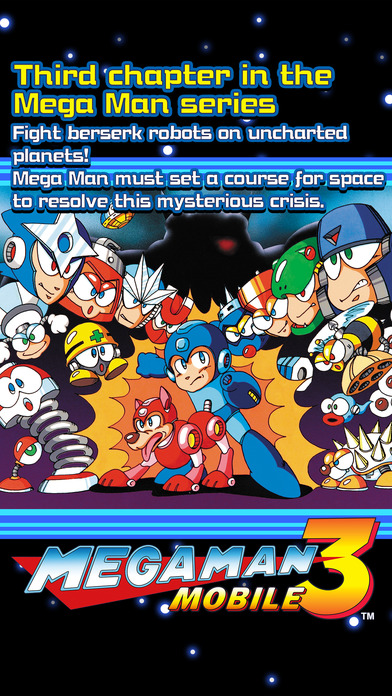 MEGA MAN 3 MOBILE screenshot 1
