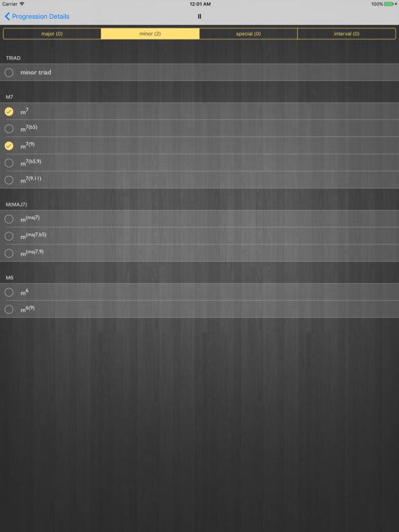 Random Progressions Screenshots