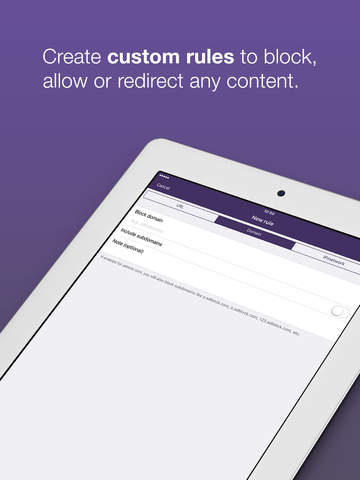 Weblock - AdBlock для приложений и веб Screenshot