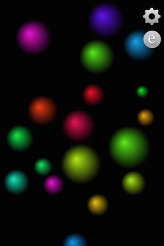 Spheres/ 球体の動き screenshot 1