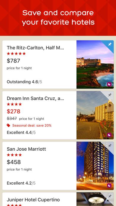 Hotels.com iPhone Screenshot 3