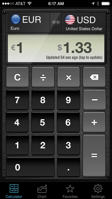 Currency Converter HD: converter + calculator Screenshots