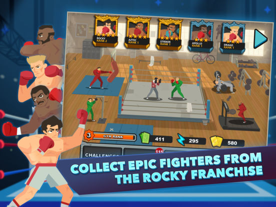 ROCKY™ Screenshots