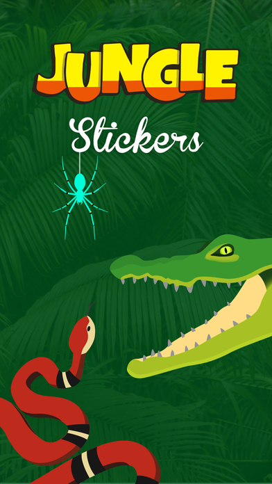 download Jungle Stickers - Creepy Crawlies apps 1