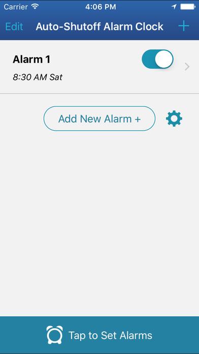 Auto-Shutoff Alarm Clock screenshot 4