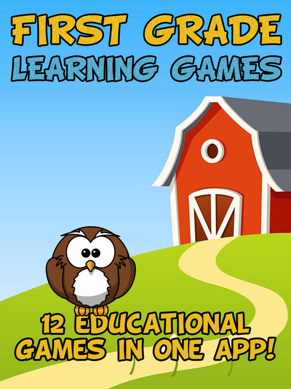 First Grade Learning Games screenshot