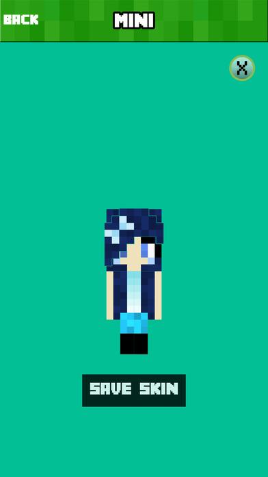 BABY SKINS FREE Aphmau FNAF Skin For Minecraft PE AppRecs - Skins para minecraft pe com