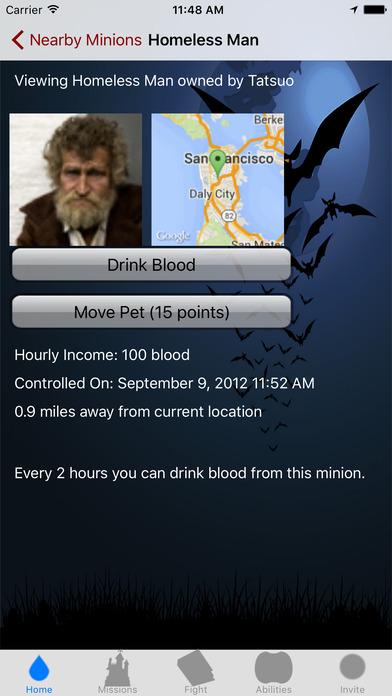 Vampires iPhone Screenshot 5