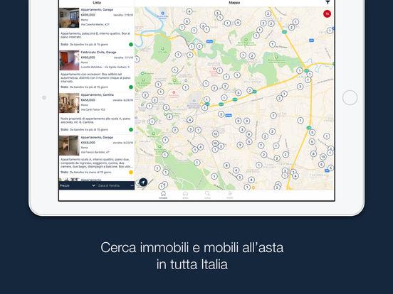 Aste Giudiziarie iPad Screenshot 1