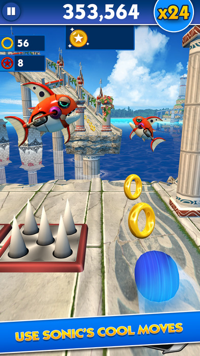 Screenshots of Sonic Dash for iPhone