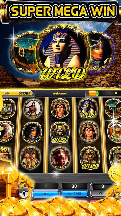 Screenshot 1 Фараоны Слоты-бесплатные игры казино 2017 года