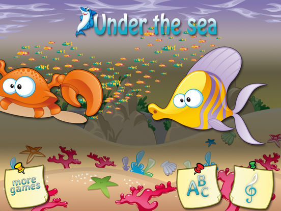 Under the sea - Learn numbers Screenshots