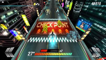 Screenshot 4 супер ниндзя мир — милый мультфильм город гонка
