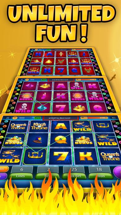 Screenshot 4 Фараон Автоматы Рулетка Казино Бинго — Аппараты Слоты (All Pharaoh's Fun Slots 4)