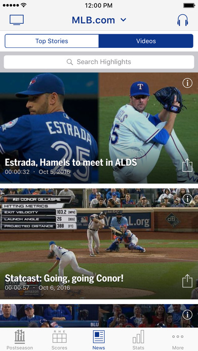 MLB At Bat screenshot 3