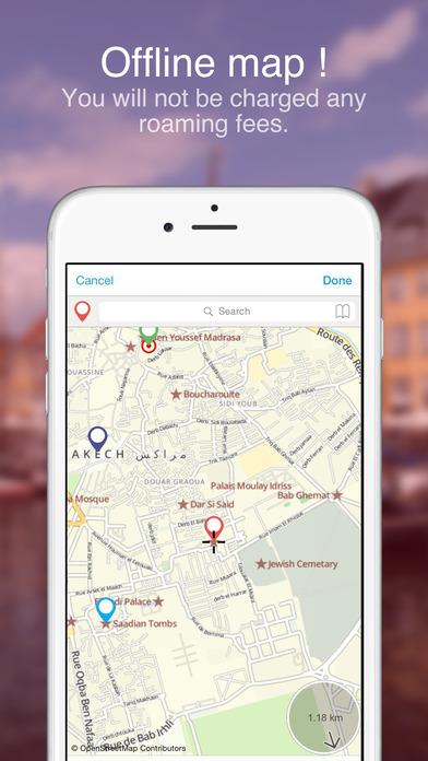 Marrakesh Offline Map : Maps In Motion Screenshots