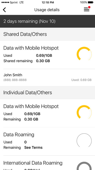 My Sprint Mobile screenshot 3