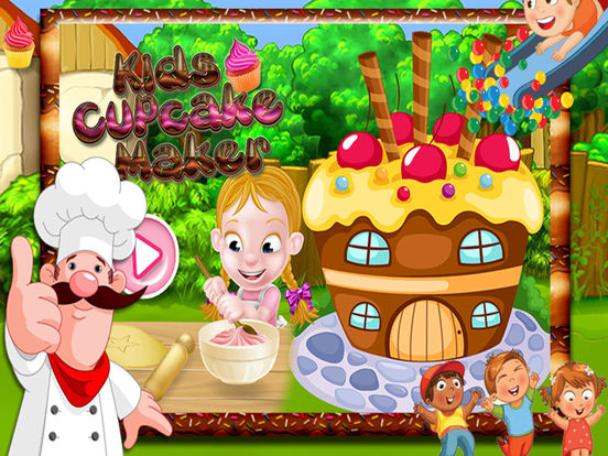Kids Cup Cake Maker screenshot 6