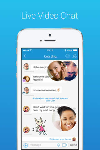 Paltalk - Group Video Chat App screenshot 1