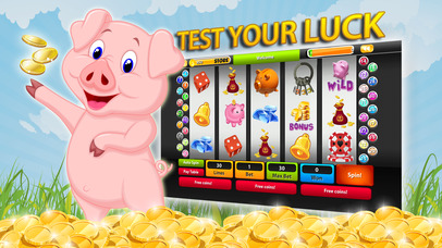 Screenshot 1 Play and Hit the Piggy Bank Slot-s Jackpot — Payo Big Win!