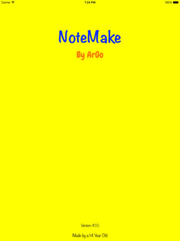 NoteMake Screenshots