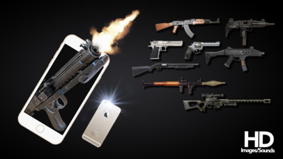 Screenshots of Gun Shot Sounds - HD gunshot sound for iPhone