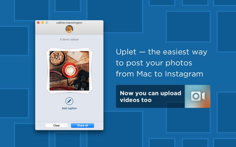 Screenshot #1 for Uplet: bulk instagram uploader