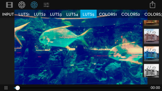 Video LUT - Colorgrade Video Editor Screenshots