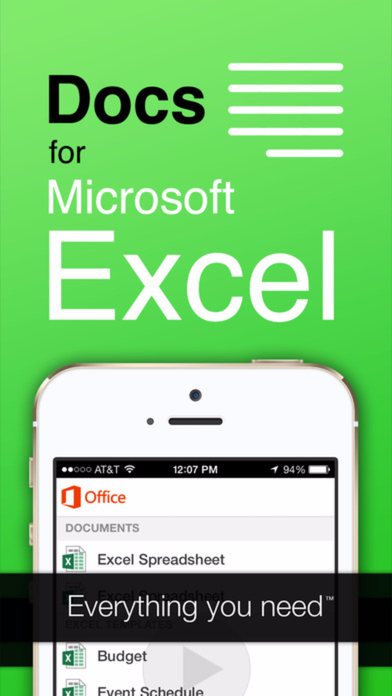 App Shopper: Full Docs - For Microsoft Office Excel of MS ...