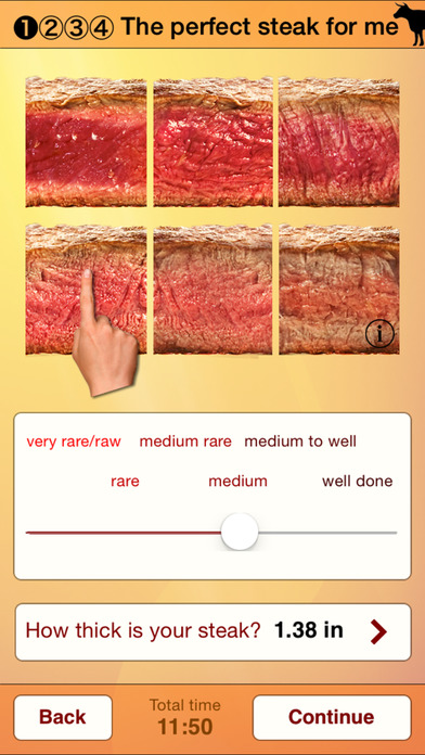 Steak Master - For your perfect steak Screenshots
