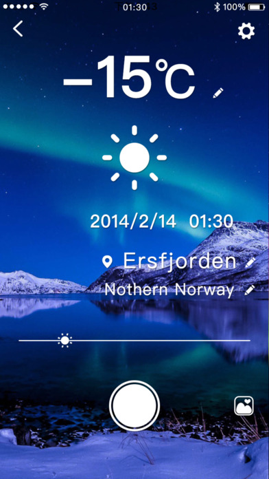 Thermometer Camera Pro, share weather by photo screenshot 2