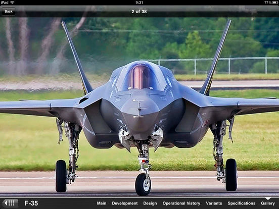 Next Super Fighter: J-20 VS. F-22 VS. F-35 VS. T-50 iPad Screenshot 5