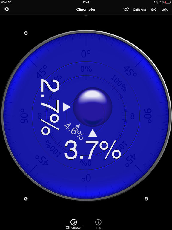Clinometer + bubble level + slope finder (3 in 1) Screenshots