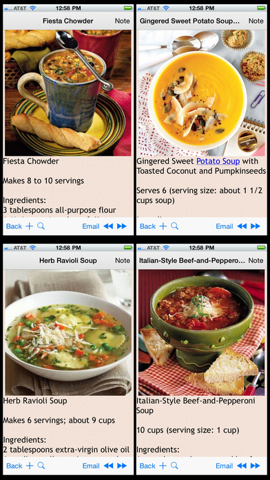 Screenshot for Soup and Stew Recipes Plus+ in Azerbaijan App Store