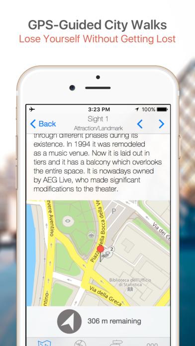Rio de Janeiro Walking Tours and Map iPhone Screenshot 3