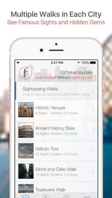 Pittsburgh Map and Walking Tours iPhone Screenshot 1