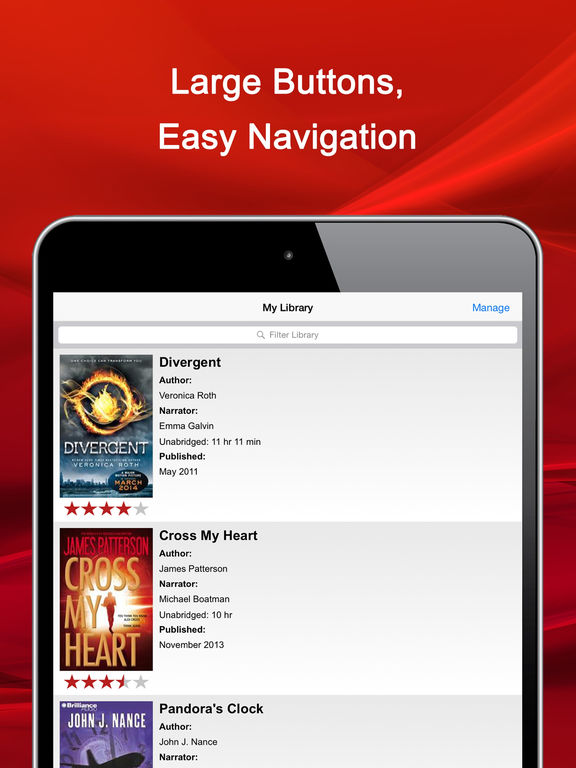 how to download audiobooks on ipad