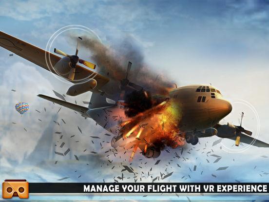 VR Airplane Flight Sim 2017 screenshot 8
