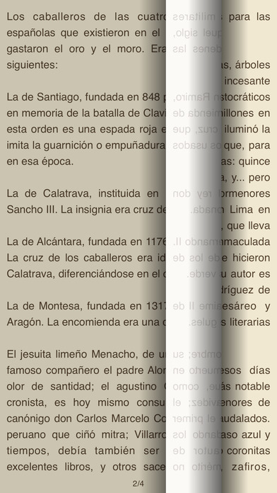 El Caballero de la Virgen iPhone Screenshot 1