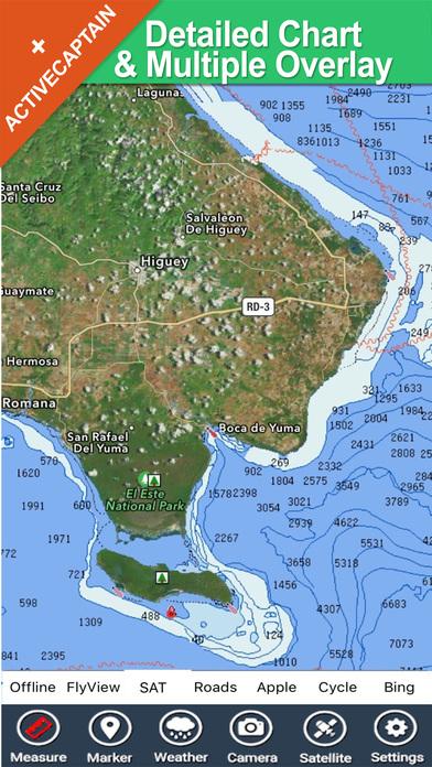 Dominican Republic - GPS Map Navigator iPhone Screenshot 1