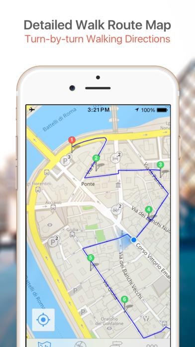 Lyon Map and Walking Tours iPhone Screenshot 4