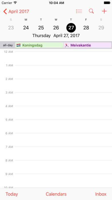 Feestdagen NL & Vakanties iPhone Screenshot 3