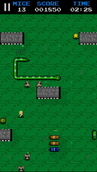 Snake Mice Hunter - Classic Snake Game Arcade Free Screenshot