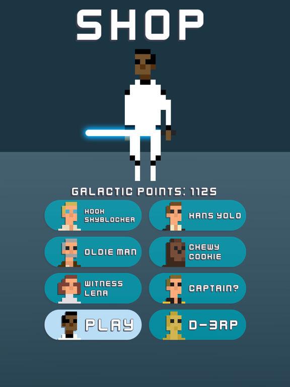 Galactic Pixel Wars - The Farce Awakens Screenshot