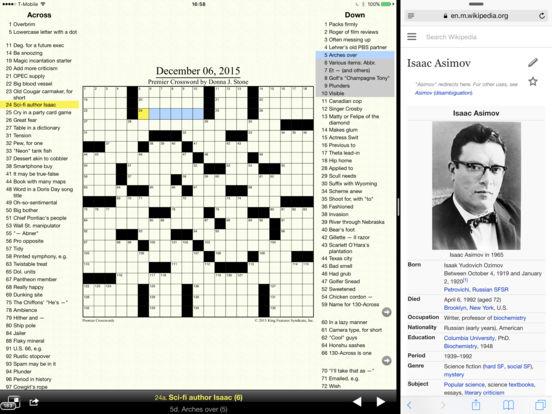 Crosswords iPad Screenshot 2