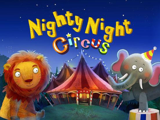 Nighty Night Circus - Bedtime story for kids screenshot