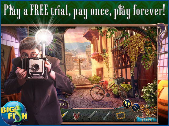 Off The Record: The Art of Deception HD - A Hidden Object Mystery на iPad