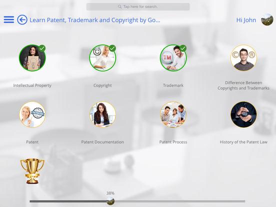 Patent Reference for iPad iPad Screenshot 2