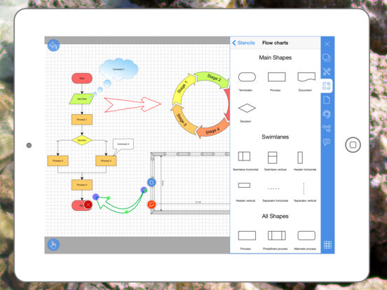 Grapholite Diagrams Flow Charts And Floor Plans Maker Apppicker